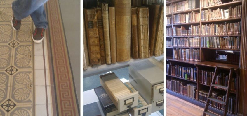 Die historische Uni-Bibliothek in Göttingen