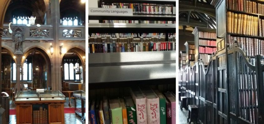 Drei besondere Bibliotheken in Manchester