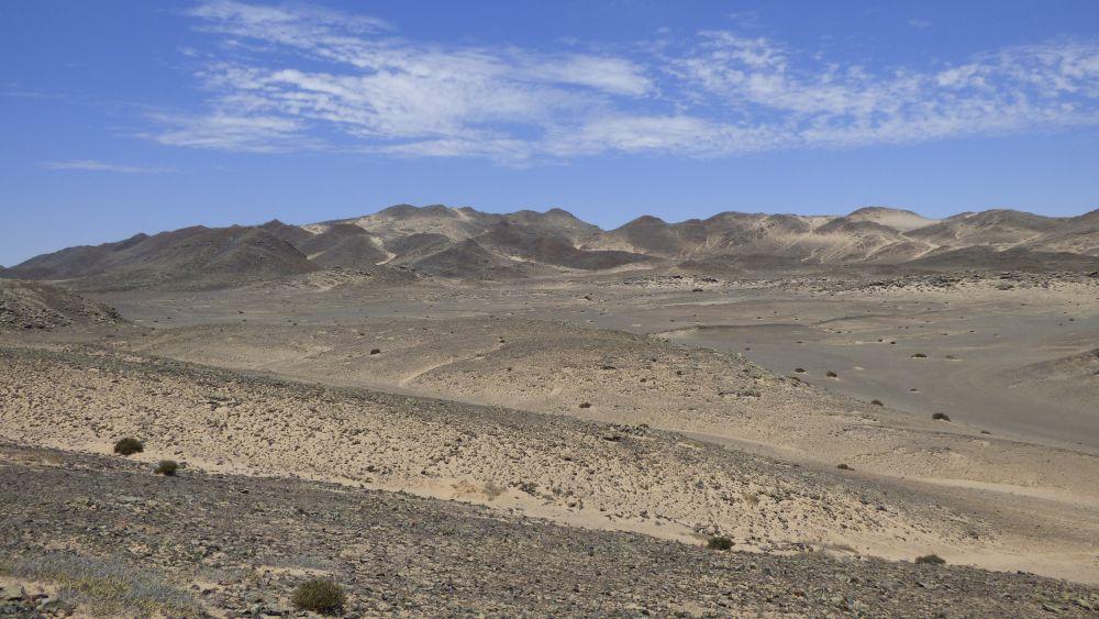 Hügel an der Skelettküste