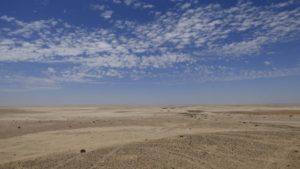 die Weite der Skelettküste in Namibia