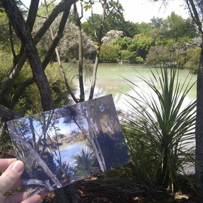 Stadtpark von Roturua