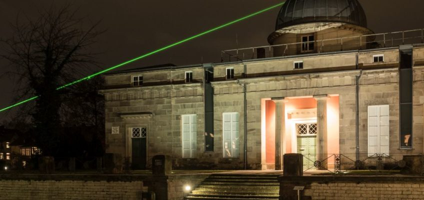 Der Gauß-Weber-Laser an der Sternwarte Göttingen