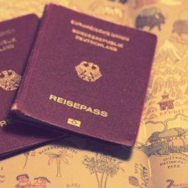 Wie ich zwei Reisepässe und die große Freiheit bekomme