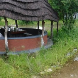 Regenzeit: Land unter in Gweta