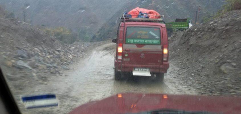 Von Kathmandu in die Berge: Protokoll einer abenteuerlichen Reise