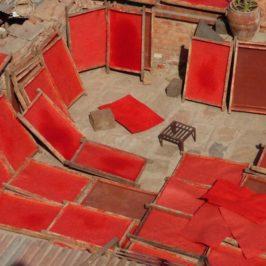 Die Papierfabrik in Bhaktapur