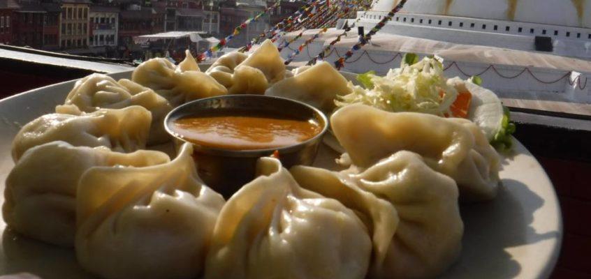 Typisch nepalesisches Essen