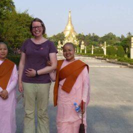 Fotosession mit Nonnen