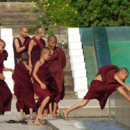 Begegnungen in Myanmar