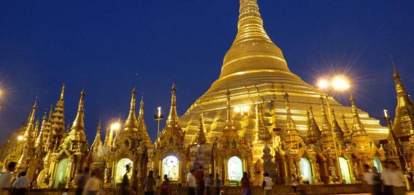 Alles Gold, was glänzt: die Shwedagon Pagode