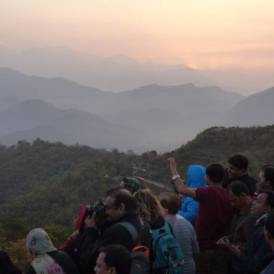 im Anapourna, Pokhara, Nepal
