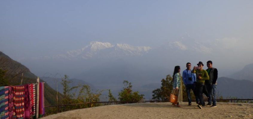 Sonnenaufgang über dem Annapurna