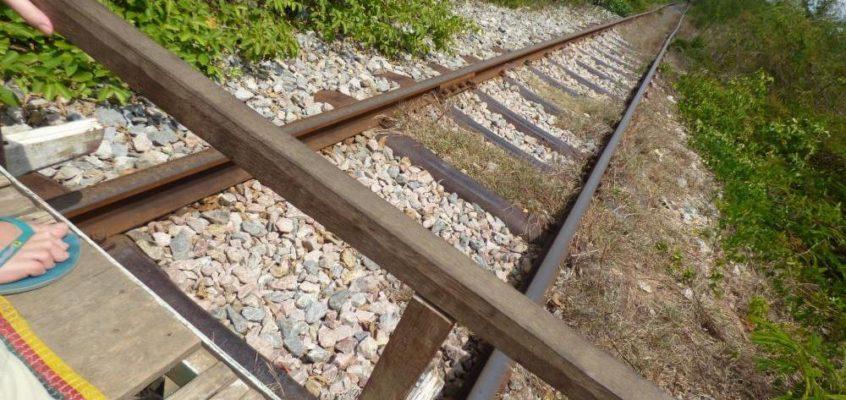 Die Bambusbahn von Battambang