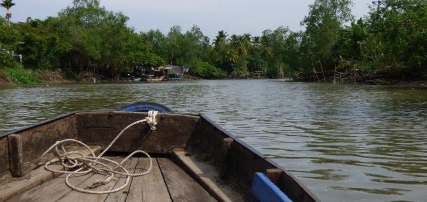 Müll und große Freiheit im Mekongdelta