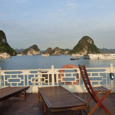 Halongbucht, Vietnam