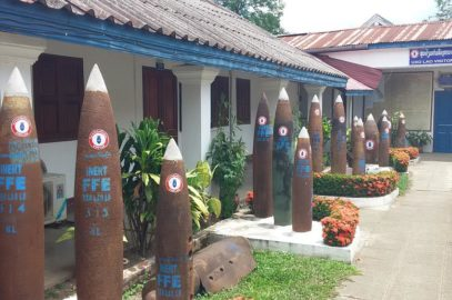 Kriegsopfer Laos