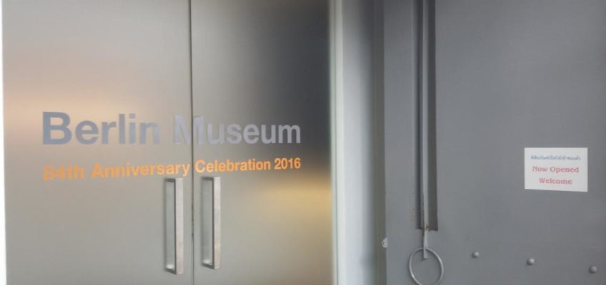 Im Berlin Museum in Bangkok