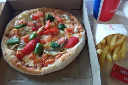 Pizza auf Spanisch