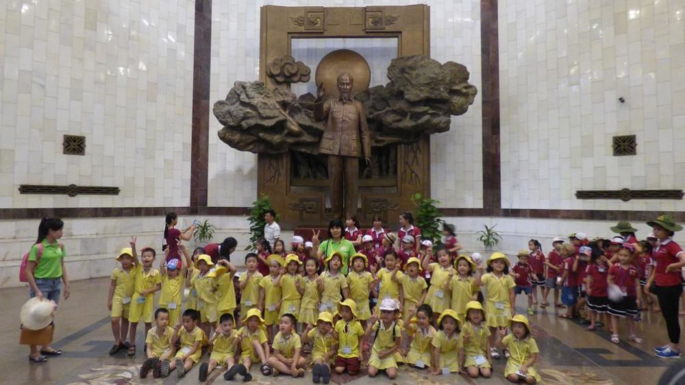 Halle des Ho Chi Minh Museum